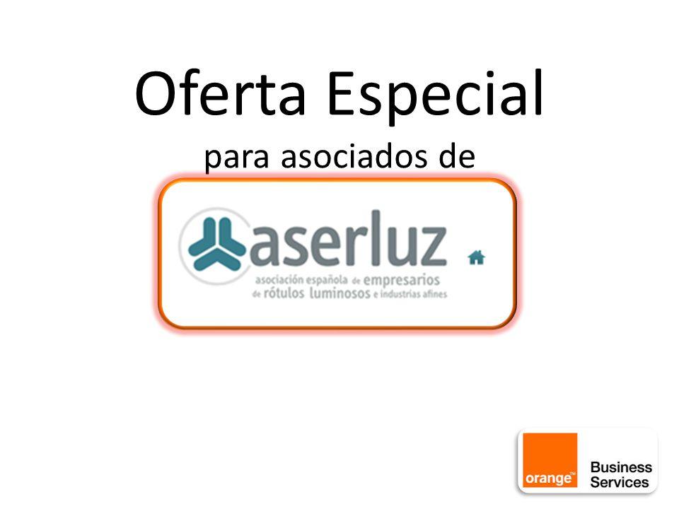 Oferta Especial para asociados de