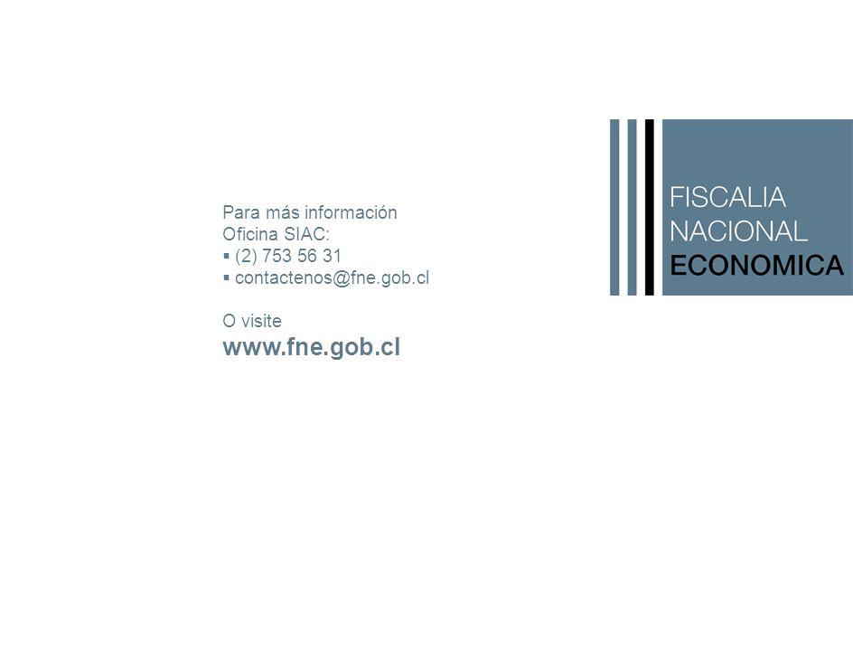 Para más información Oficina SIAC:  (2) 753 56 31  contactenos@fne.gob.cl O visite www.fne.gob.cl