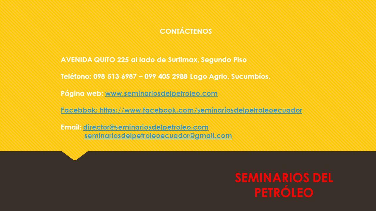 CONTÁCTENOS AVENIDA QUITO 225 al lado de Surtimax, Segundo Piso Teléfono: 098 513 6987 – 099 405 2988 Lago Agrio, Sucumbíos.