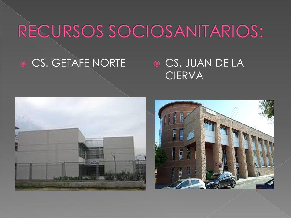  CS. GETAFE NORTE  CS. JUAN DE LA CIERVA