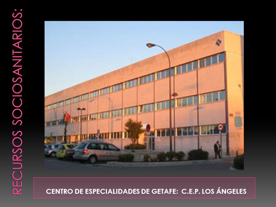 CENTRO DE ESPECIALIDADES DE GETAFE: C.E.P. LOS ÁNGELES