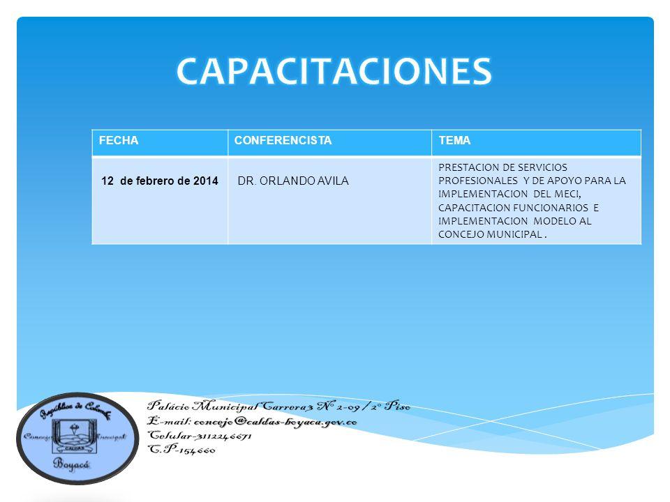 FECHACONFERENCISTATEMA 12 de febrero de 2014 DR.