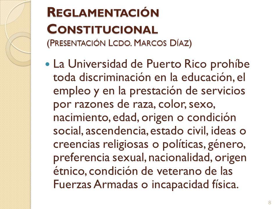 Proceso – Se acuerda la carta contractual con el candidato recomendado para el puesto y se incluye con los documentos, – http://daarrp.uprrp.edu/daa/circulares_guias_reglamentos,politica_institucio nal_otros/Circulares%20y%20memos%20DAA%202006- 2007/c3_plan_desarrollo_carta_contractual_en_el_reclutamiento_Docent e_para_plaza_probatoria.pdf http://daarrp.uprrp.edu/daa/circulares_guias_reglamentos,politica_institucio nal_otros/Circulares%20y%20memos%20DAA%202006- 2007/c3_plan_desarrollo_carta_contractual_en_el_reclutamiento_Docent e_para_plaza_probatoria.pdf – DAA recibe documentos y recomendación de los comites, director y decano y recomendaciones disidentes, determina si se ha cumplido con la normativa y si el candidato cumple con todos los criterios en la convocatoria, – DAA atiende apelaciones, posiciones discrepantes y controversias en esa etapa y requiere documentos adicionales de ser necesario, – La recomendación es finalmente sometida y aceptada o no por la Rectora o Rector.