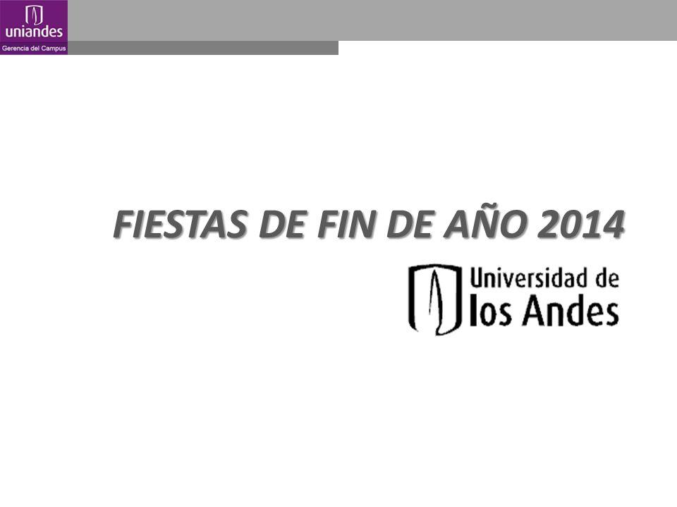 FIESTAS DE FIN DE AÑO 2014