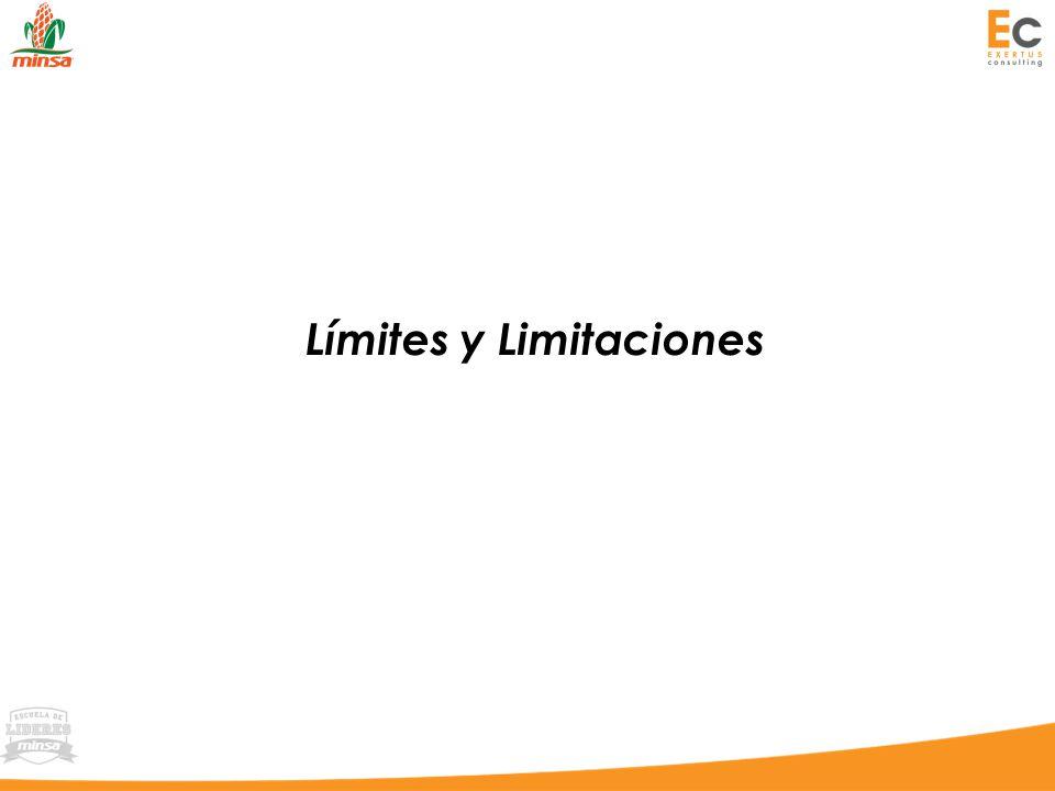 Límites y Limitaciones