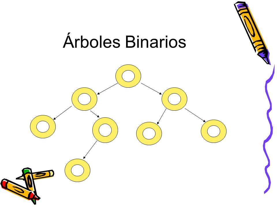 Árboles Binarios