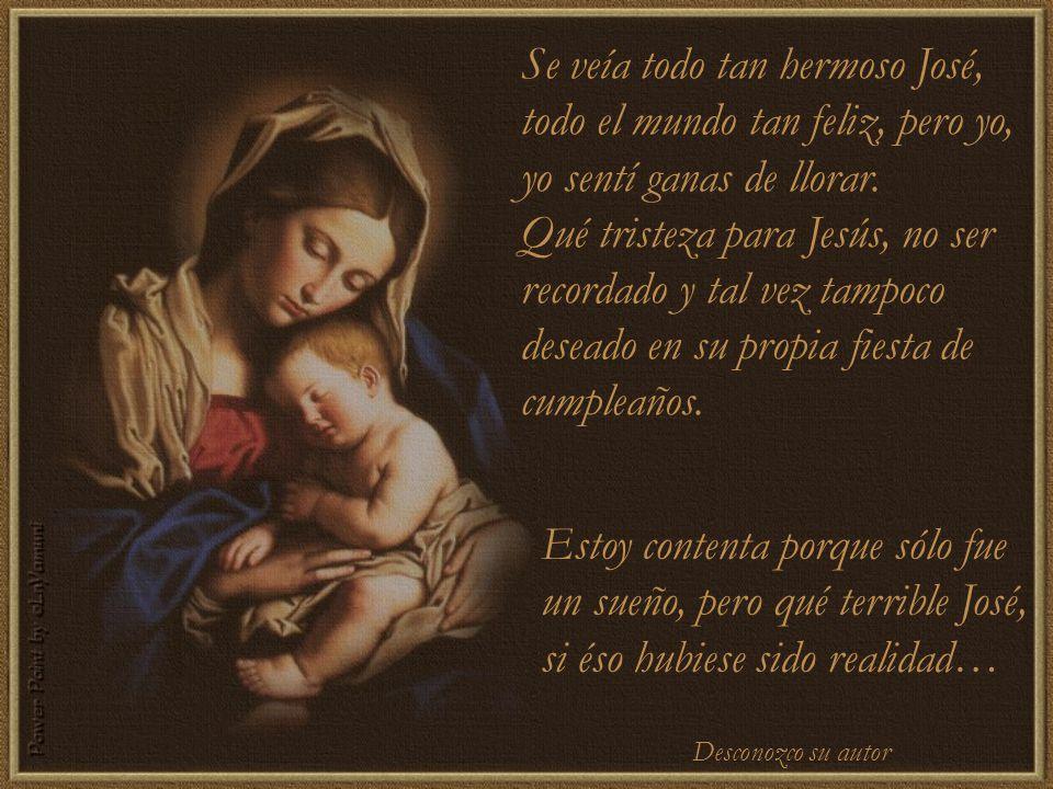 La gente se sentía feliz, sonriente todos se veían emocionados intercambiaban regalos, pero José, no quedó ninguno para nuestro hijo.