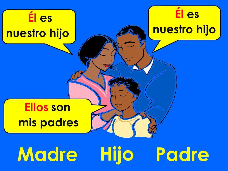 MadrePadre Hijo Él es nuestro hijo Él es nuestro hijo Ellos son mis padres