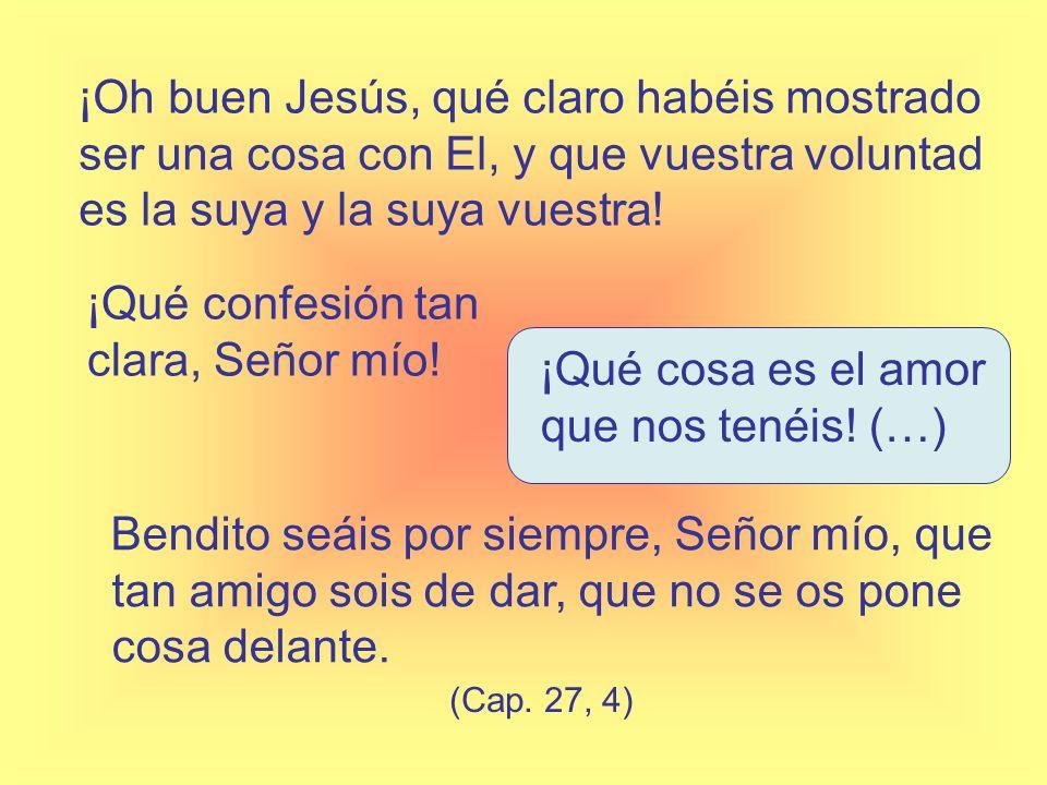 Pues ¿quién no procurará no perder tal Padre (Cap. 27, 6)