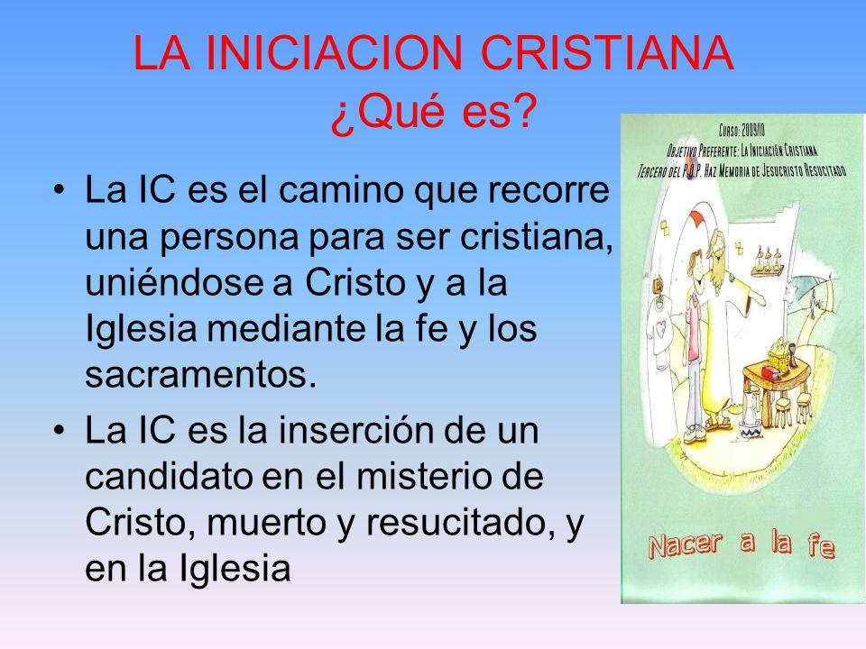 LA INICIACION CRISTIANA ¿Qué es.