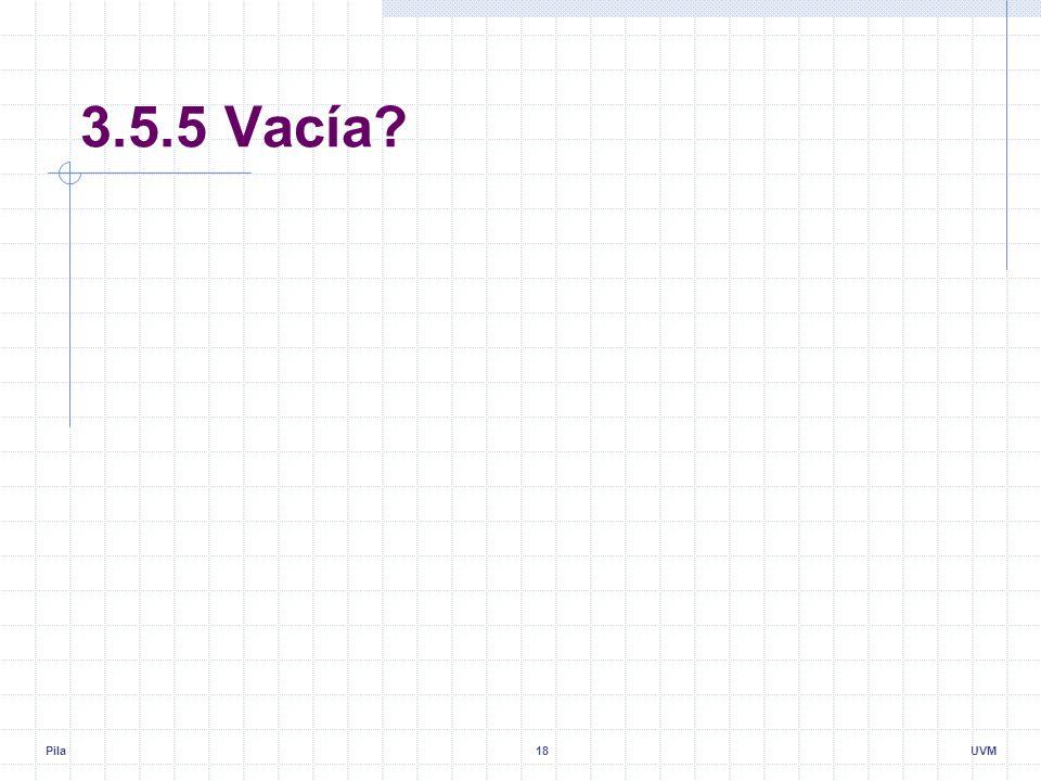 Pila18UVM 3.5.5 Vacía