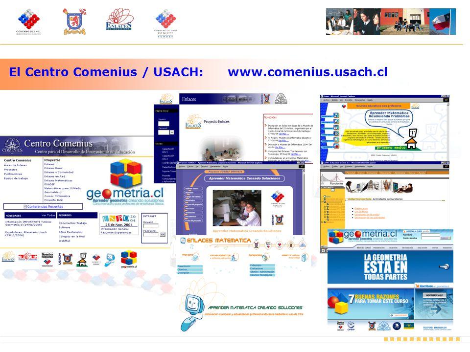El Centro Comenius / USACH: www.comenius.usach.cl