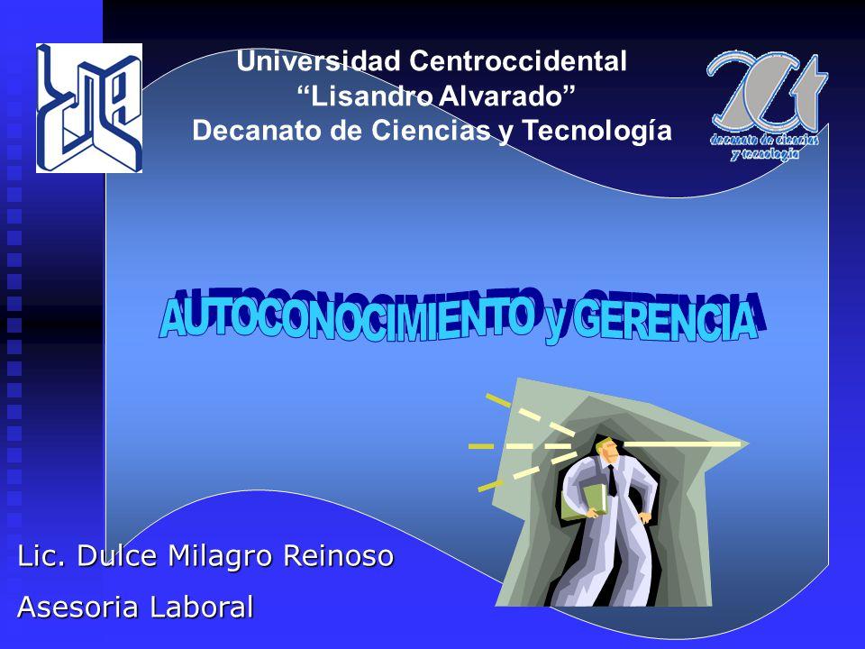 Universidad Centroccidental Lisandro Alvarado Decanato de Ciencias y Tecnología Lic.