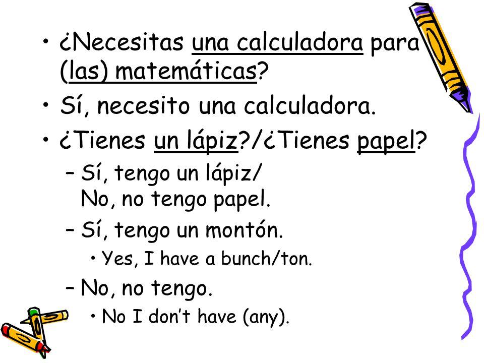 ¿Necesitas una calculadora para (las) matemáticas.