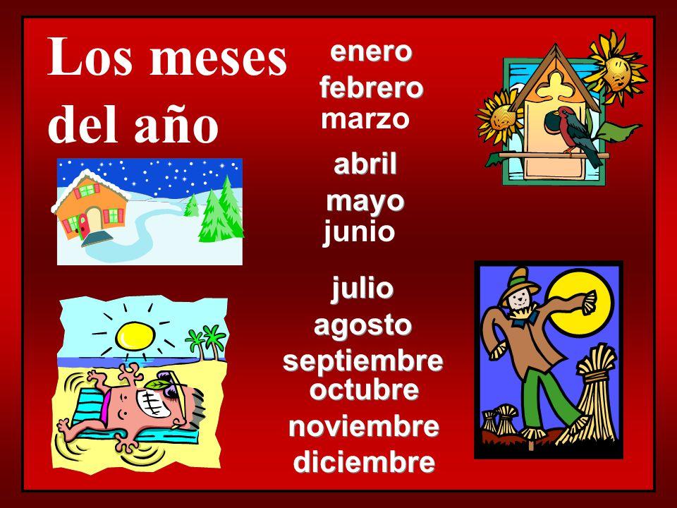 Preguntas Importantes… ¿Qué día es hoy. (What day is today ) –Hoy es________.