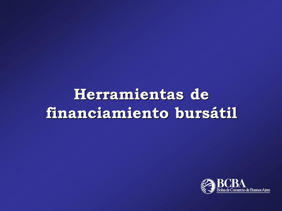 Herramientas de financiamiento bursátil
