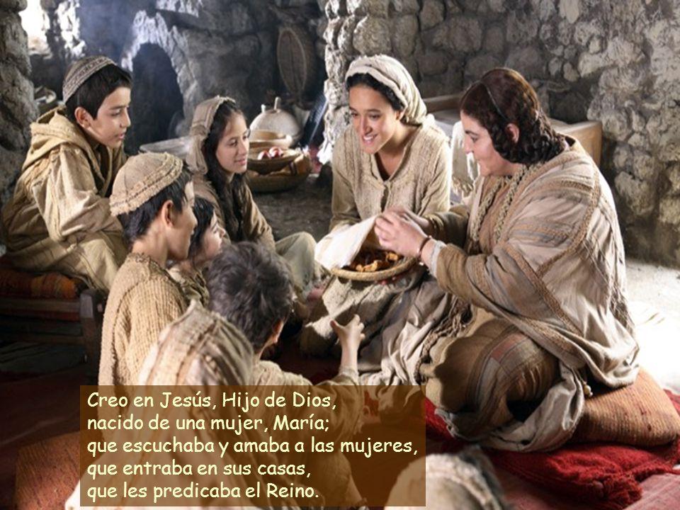 Creo en Dios, que ha creado a la mujer y al hombre a su imagen y semejanza, y a los dos les encomendó el cuidado de la tierra.