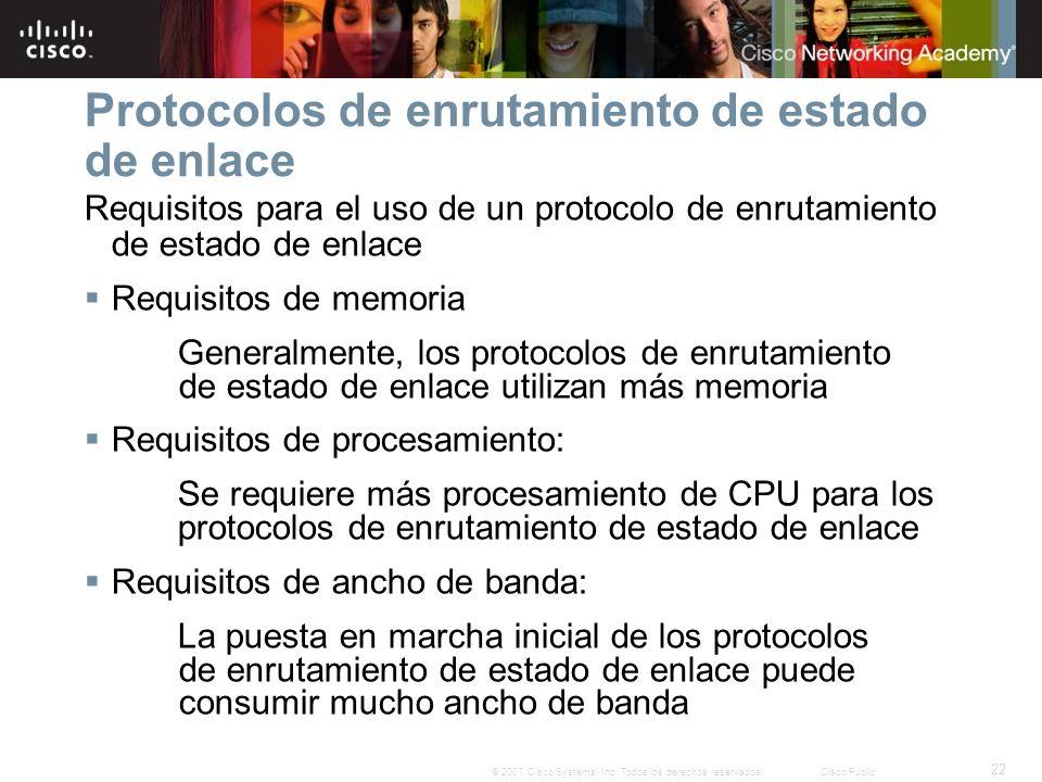 22 © 2007 Cisco Systems, Inc.