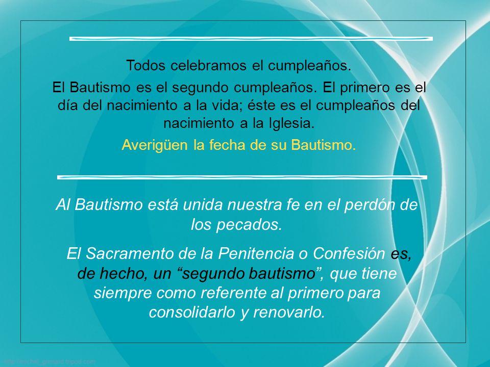 Es un término solemne e indica la gran importancia del objeto, es decir, el Bautismo.
