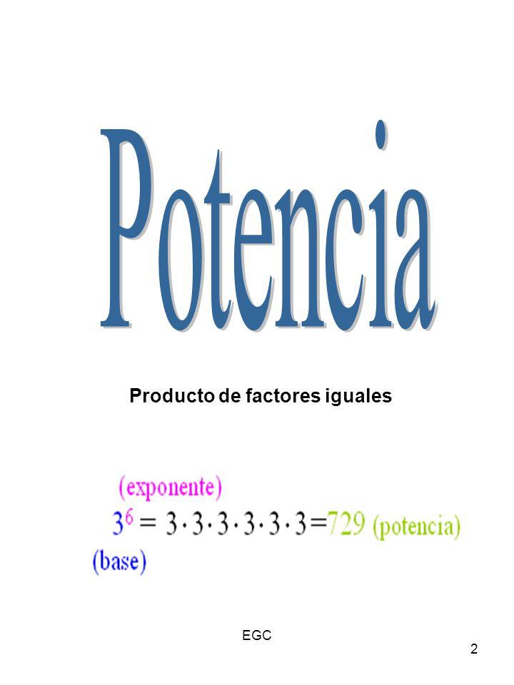 13 Consecuencias ¿Qué pasaría si dividiéramos dos potencias iguales?: Por ejemplo Pero si usamos las propiedades : Entonces : Cualquier base (que no sea 0) elevada a 0 vale 1.