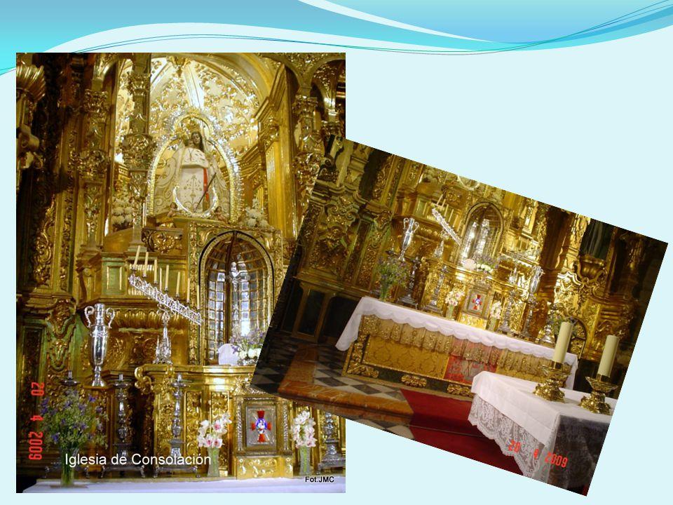La iglesia de la Consolación se conoce también por el nombre de Santa María la Mayor, pues acogió la nueva de sede de la abacial de La Mota.