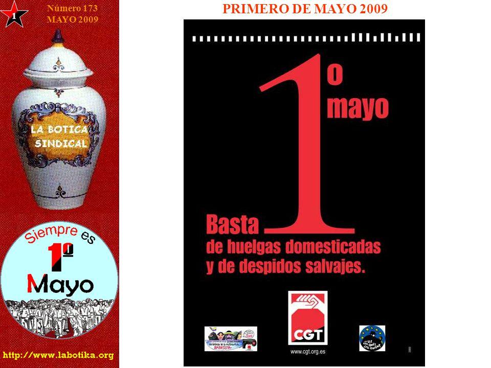 1 Número 173 MAYO 2009 PRIMERO DE MAYO 2009