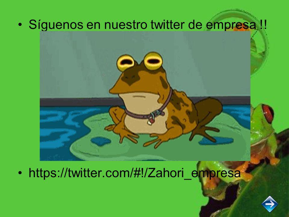 Síguenos en nuestro twitter de empresa !! https://twitter.com/#!/Zahori_empresa