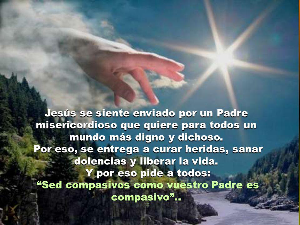 Este es el verdadero Mesías: el que viene a aliviar el sufrimiento, curar la vida y abrir un horizonte de esperanza a los pobres.