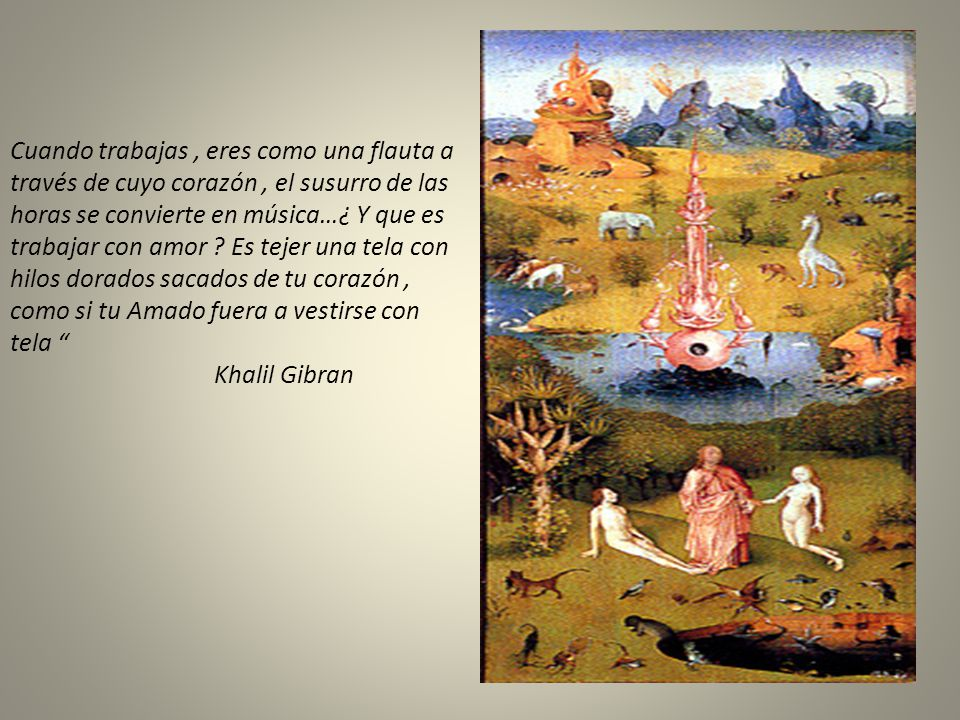 Pinturas de Del Bosco El amigo es un camino, el enemigo un muro. Sabiduría China