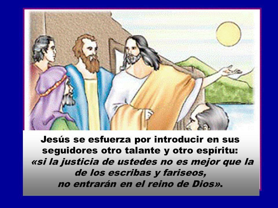 Los fariseos y letrados se preocupaban de observar rigurosamente aquella leyes, pero descuidaban el amor y la justicia.
