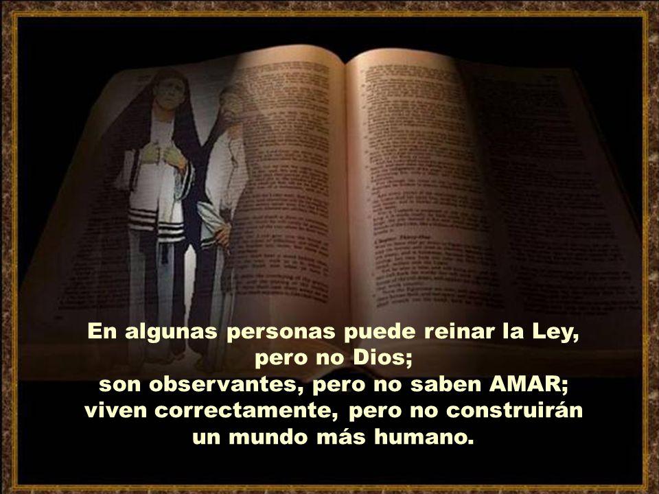 Aquel que no mata, cumple la Ley, pero si no arranca de su corazón la agresividad hacia su hermano, no se parece a Dios.