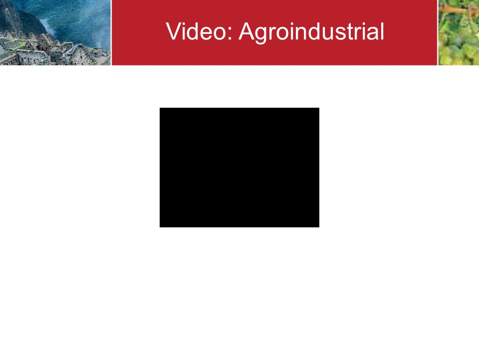 Video: Agroindustrial