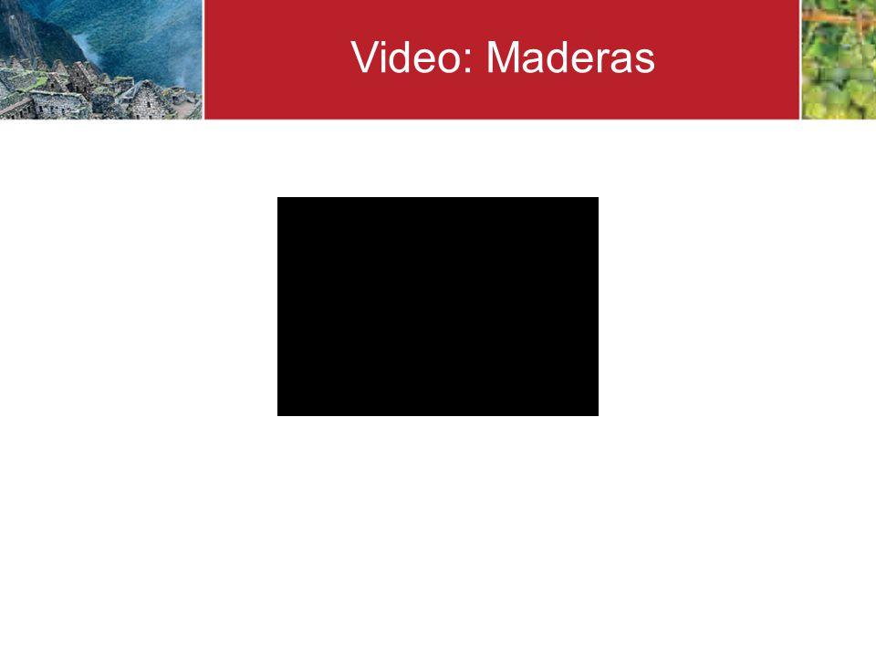 Video: Maderas