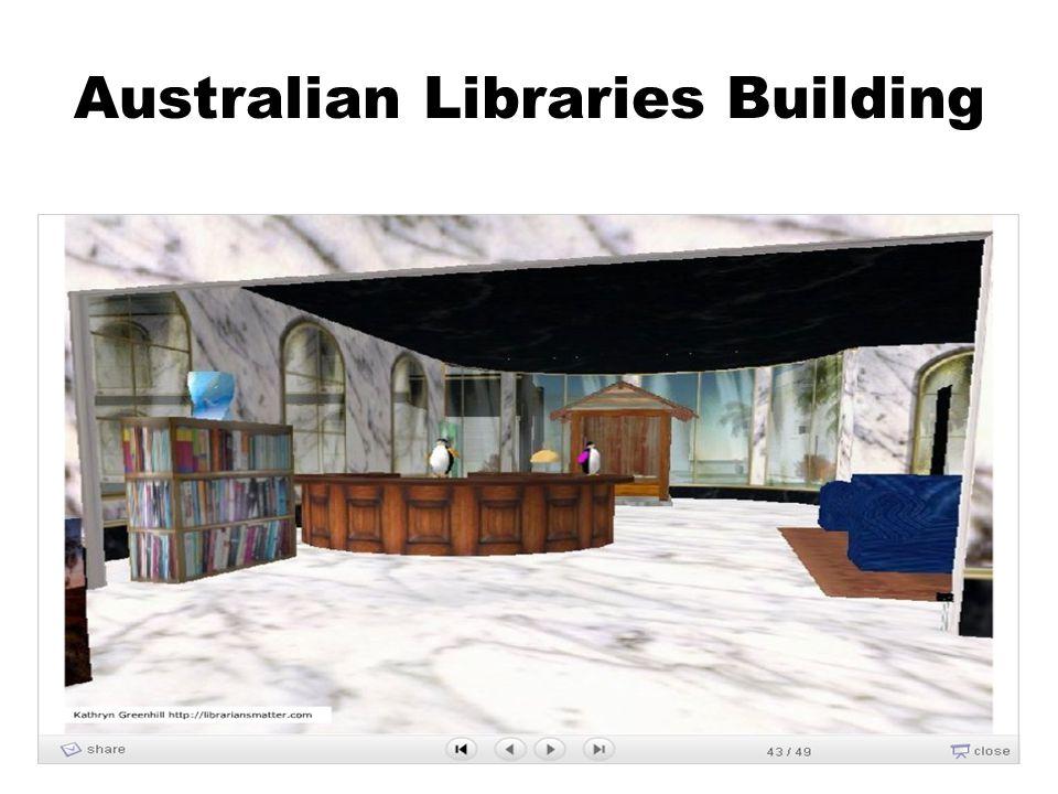 Australian Libraries Building