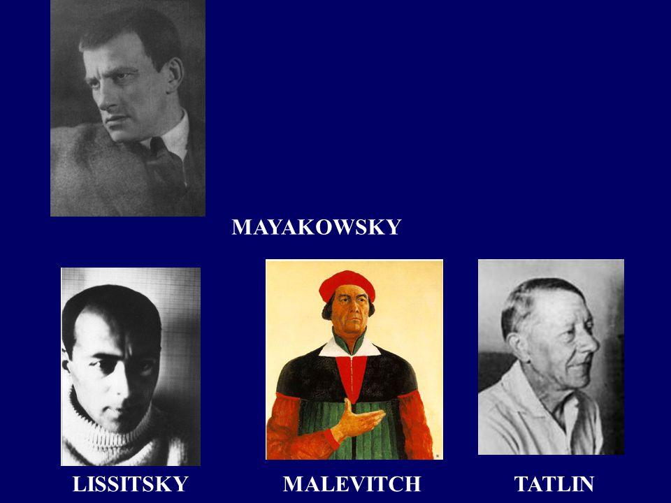 LISSITSKYTATLINMALEVITCH MAYAKOWSKY
