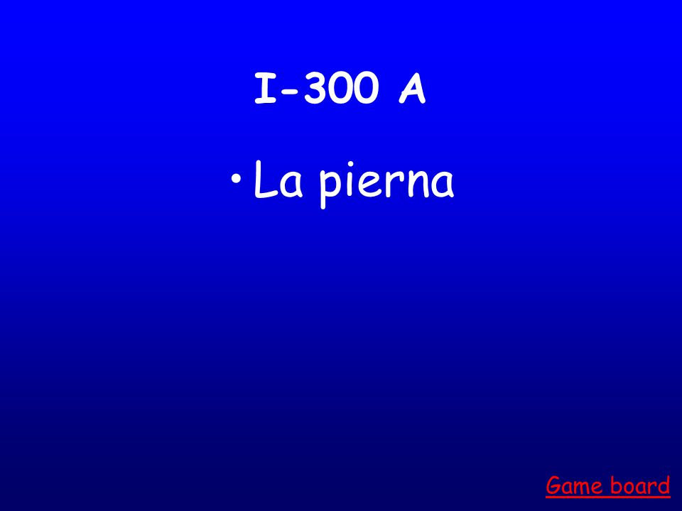 I-200 A La boca Game board