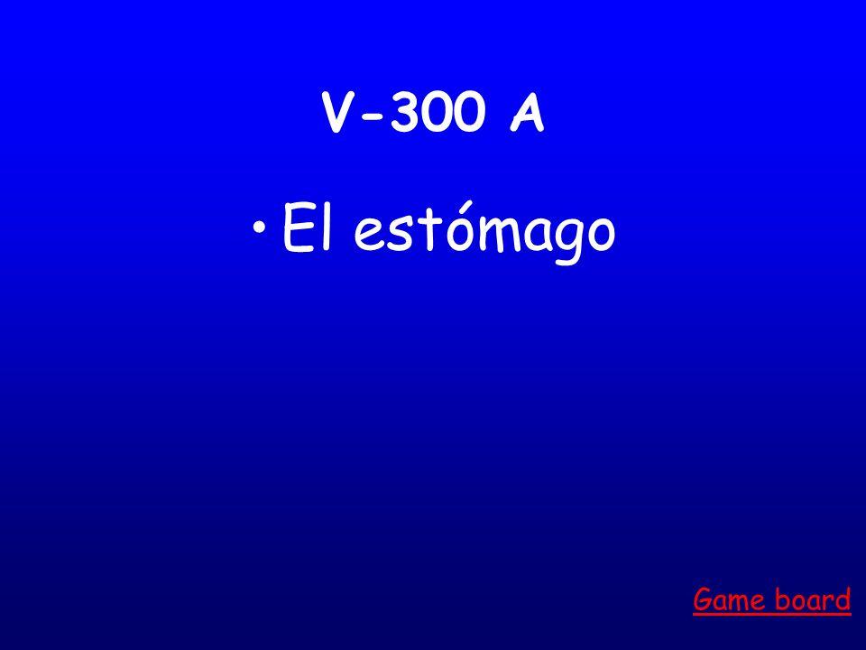 V-200 A El pie Game board