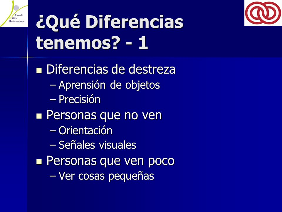 ¿Qué Diferencias tenemos.