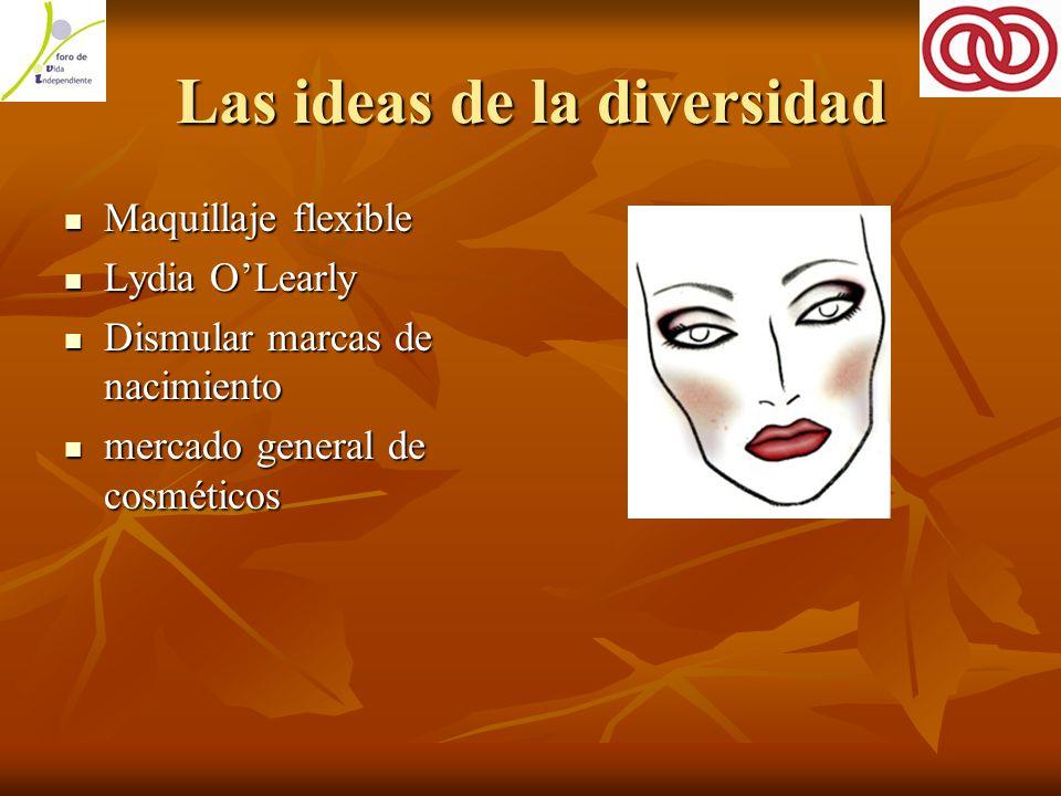 Las ideas de la diversidad Maquillaje flexible Maquillaje flexible Lydia O'Learly Lydia O'Learly Dismular marcas de nacimiento Dismular marcas de nacimiento mercado general de cosméticos mercado general de cosméticos