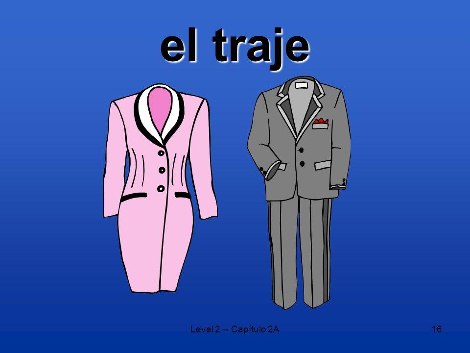 Level 2 -- Capítulo 2A16 el traje