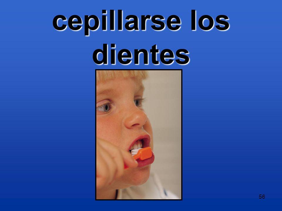 Level 2 -- Capítulo 2A56 cepillarse los dientes