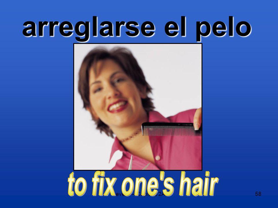Level 2 -- Capítulo 2A58 arreglarse el pelo