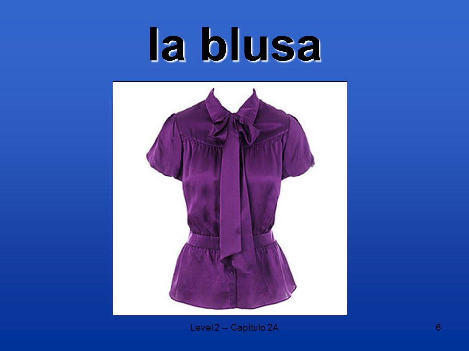 Level 2 -- Capítulo 2A6 la blusa