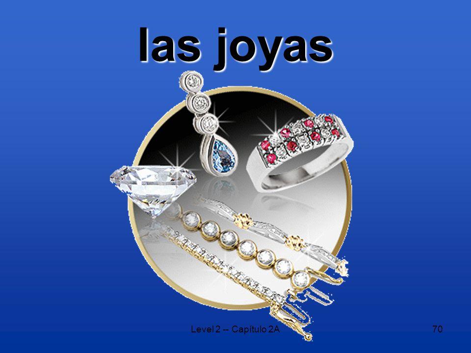 Level 2 -- Capítulo 2A70 las joyas