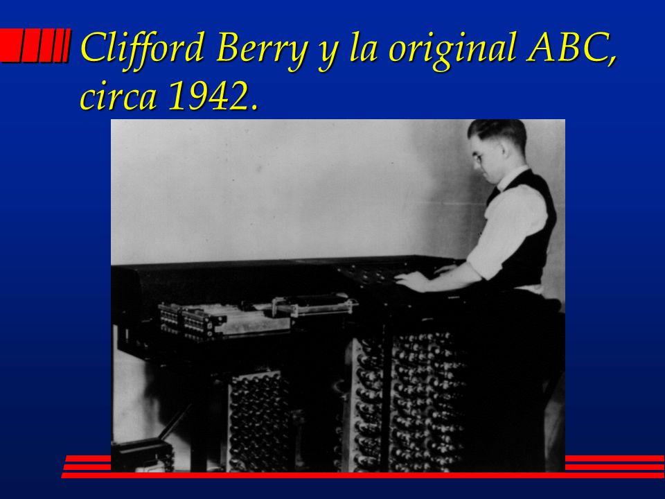Atanasoff y Berry l John V.