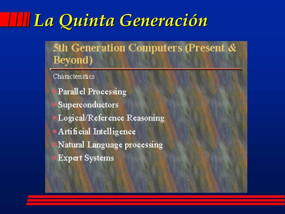 Pregunta l ¿Cómo serán las computadoras de la Quinta Generación