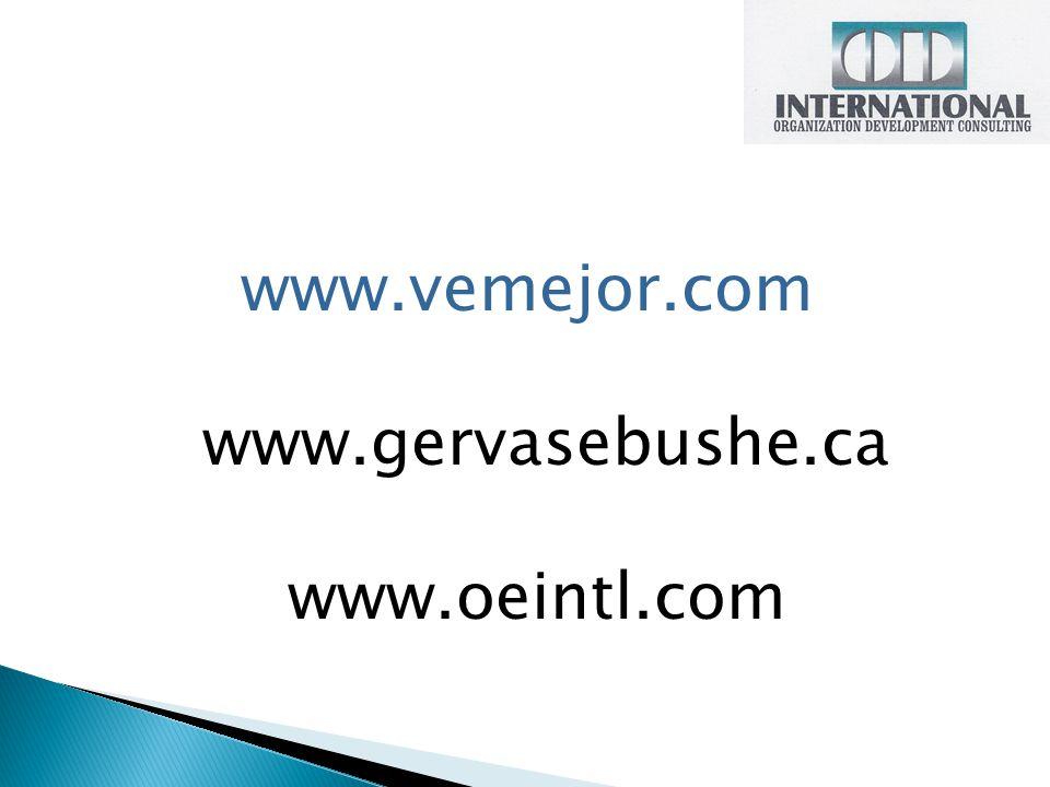 www.vemejor.com www.gervasebushe.ca www.oeintl.com