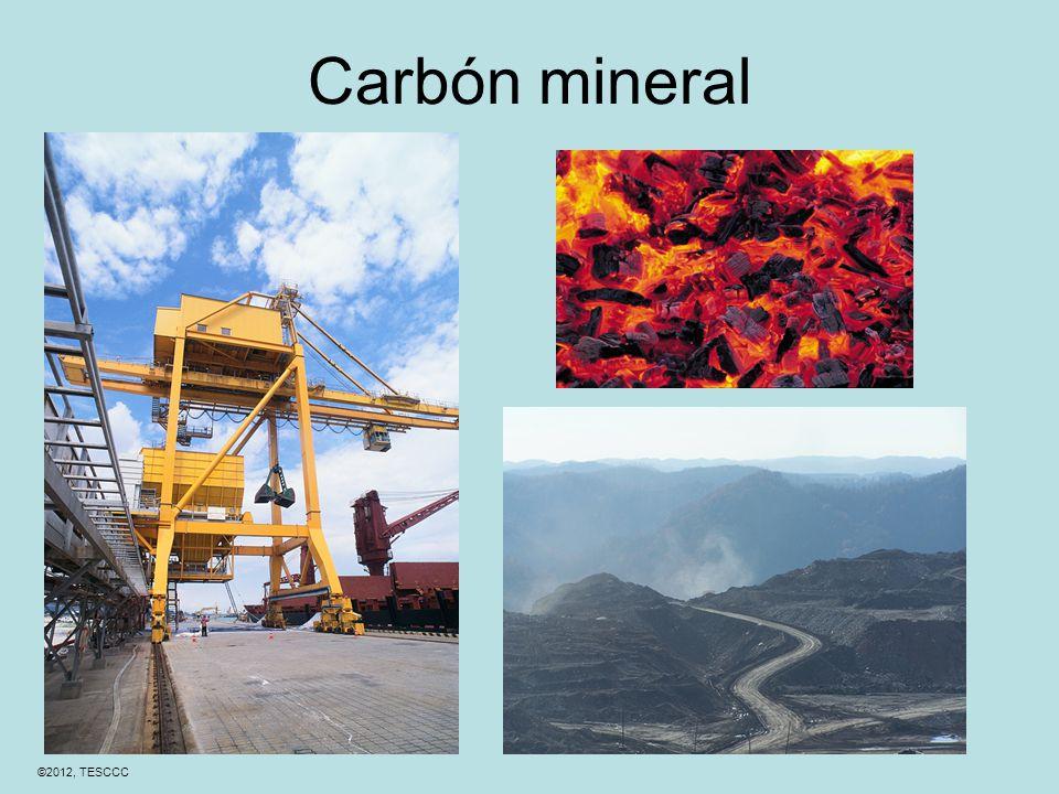 ©2012, TESCCC Carbón mineral