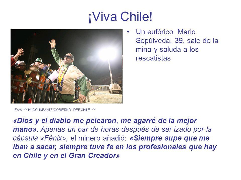 ¡Viva Chile.
