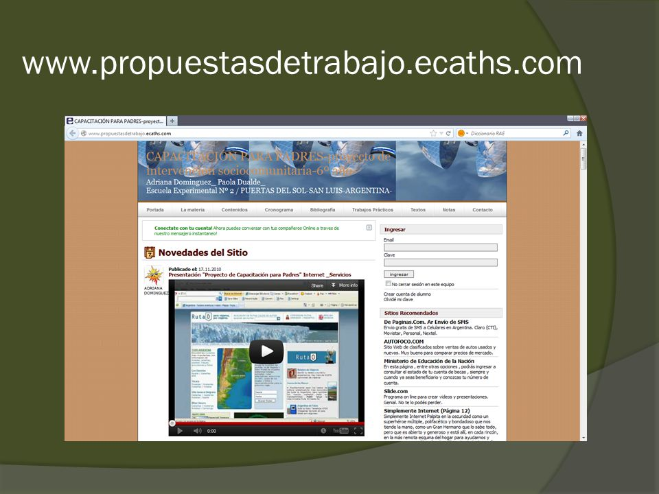 www.propuestasdetrabajo.ecaths.com